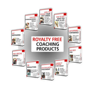 Royalty Free Coaching Products - Download Today And Keep The Profits