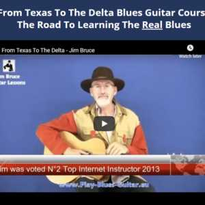 From Texas To The Delta Blues Guitar Course