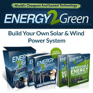 Energy 2 Green - Renewable Energy Technology