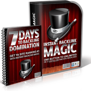 Instant Backlink Magic Domination