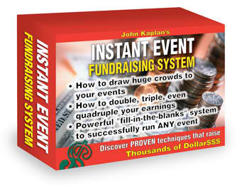 Instant Event Fundraising System And Project Planner