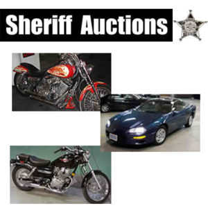 Motorcycle Auctions - Government Seized Motorcycles