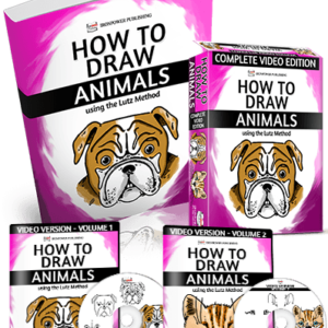 How To Draw Animals Using The Lutz Method - Draw Disney-like Cartoons